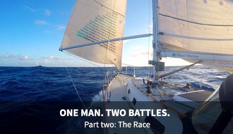 Coming Soon - ONE MAN. TWO BATTLES. - Part two: The Race.